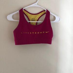 NIKE sports bra worn once